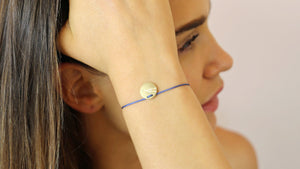 Disc on Thread - meherjewellery