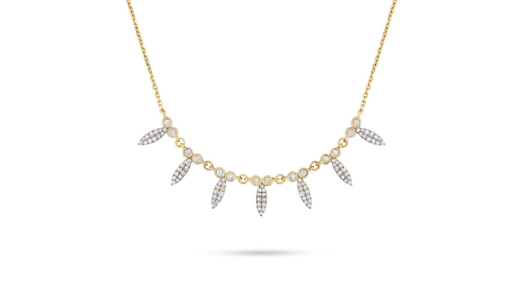 Marquise Diamond Layering Necklace