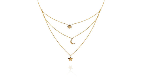 Cosmos Necklace - meherjewellery