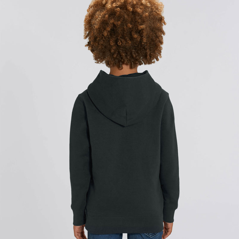 Vegan Personalized Black Boys Hoodie Back Kildare Ireland