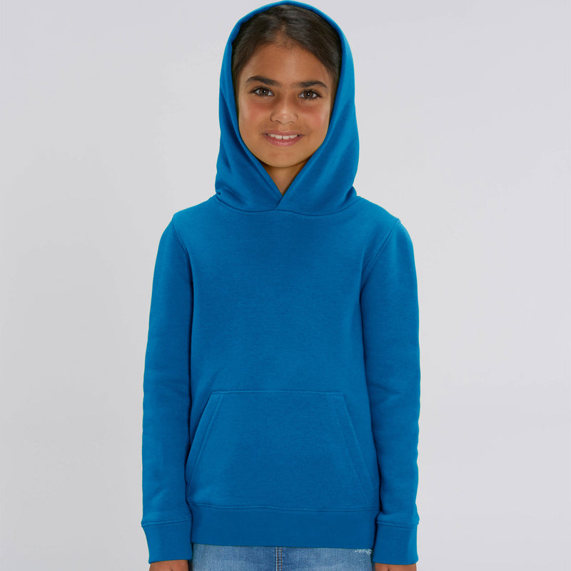 Vegan Girls Hoodie in Royal Blue Front