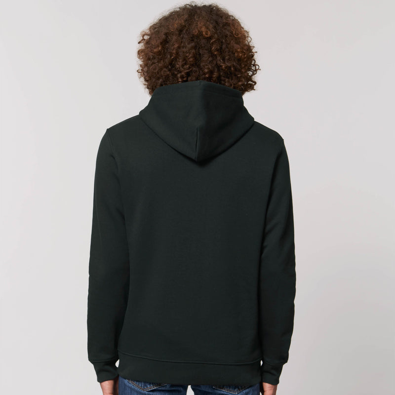 Mens Hoodie Black Back Kildare Ireland Personsalisation