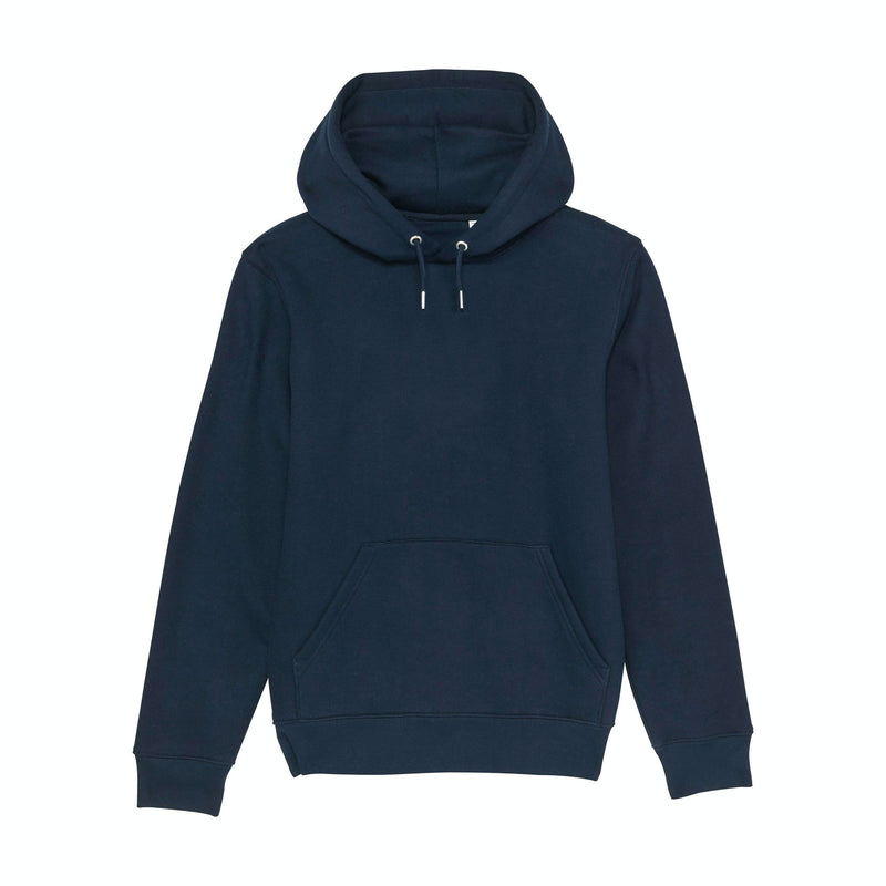 Personalized French Navy Mens Hoodie Vegan Fair Trade Recyclable Kildare Ireland