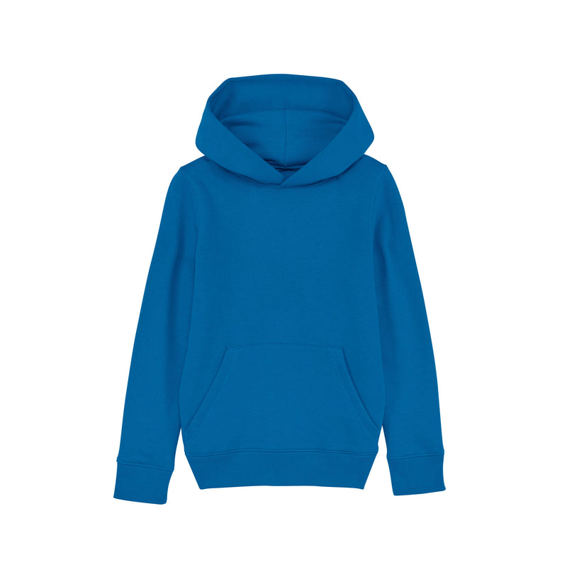 Personalised Royal Blue Kids Hoodie from Stanley Stella