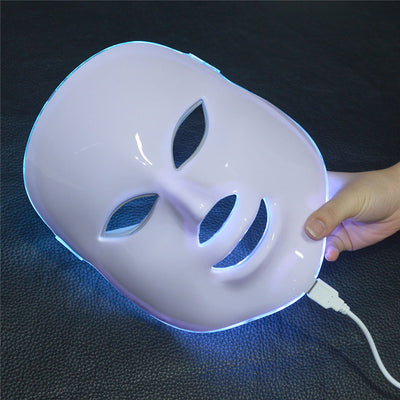 Photodynamic 7 Colors LED Facial Beauty Mask