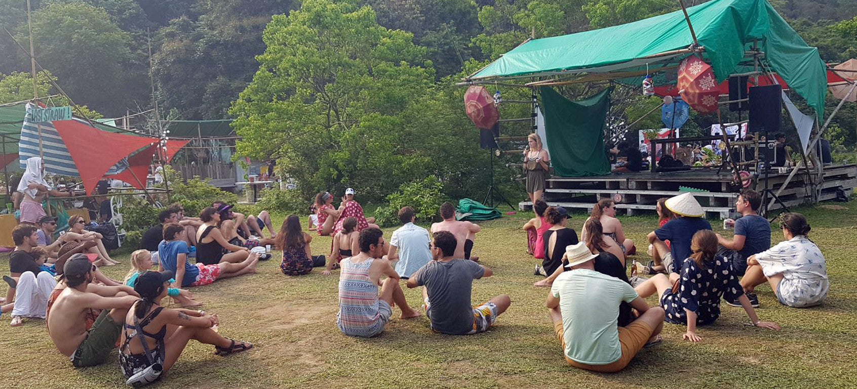 Shi Fu Miz festival, our talk about the Zero Waste lifestyle