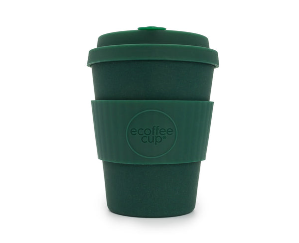Reusable bamboo coffee cup 12oz