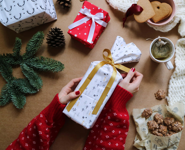 Reusable gift wrap - Christmas edition
