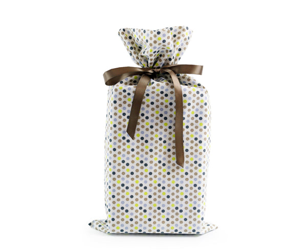 Dots large reusable gift wrap, Present Durable
