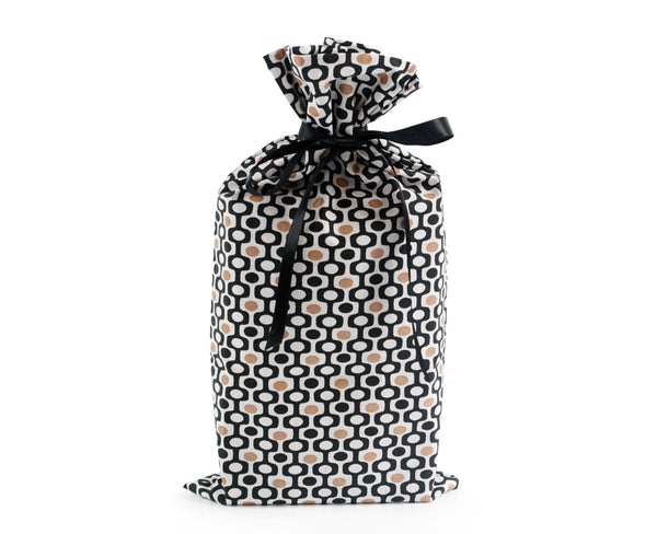 Ethnic large reusable gift wrap, Present Durable