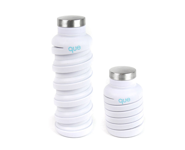 Collapsible bottle hong kong, white