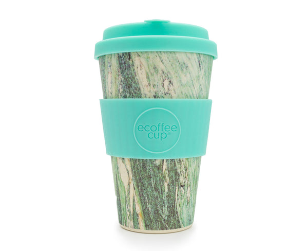 Reusable bamboo coffee cup 14oz