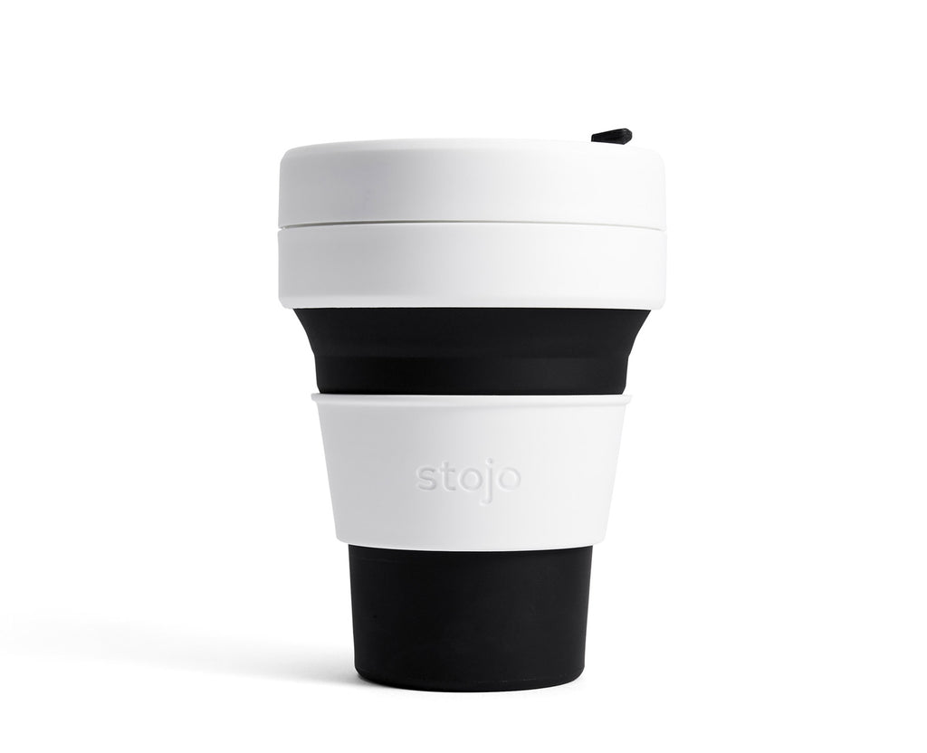 Collapsible cup, black