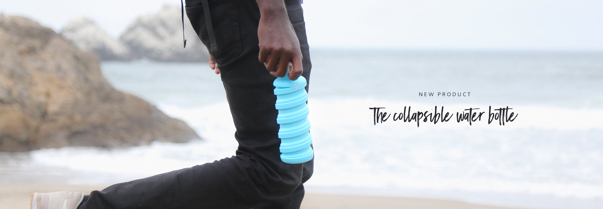 New zero waste product, the collapsible bottle