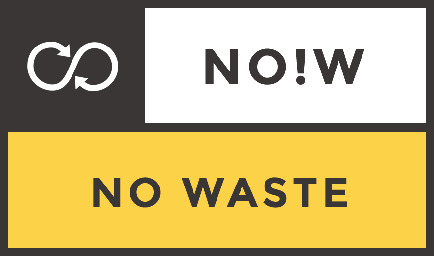 NO!W No Waste logo