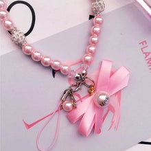 Handcrafted Gorgeous Pearls Phone Charms