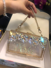Gorgeous Crystallised Sling Clutch Bag