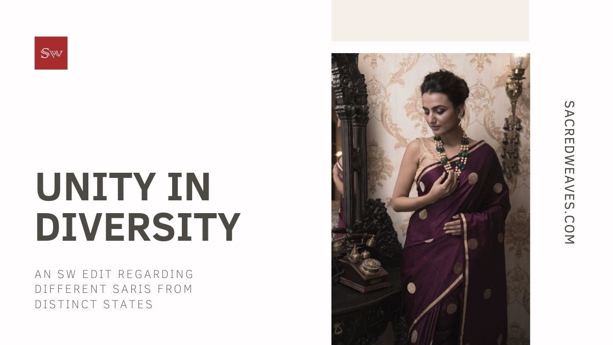 Unity in Diversity: An SW edit regarding different saris from distinct states