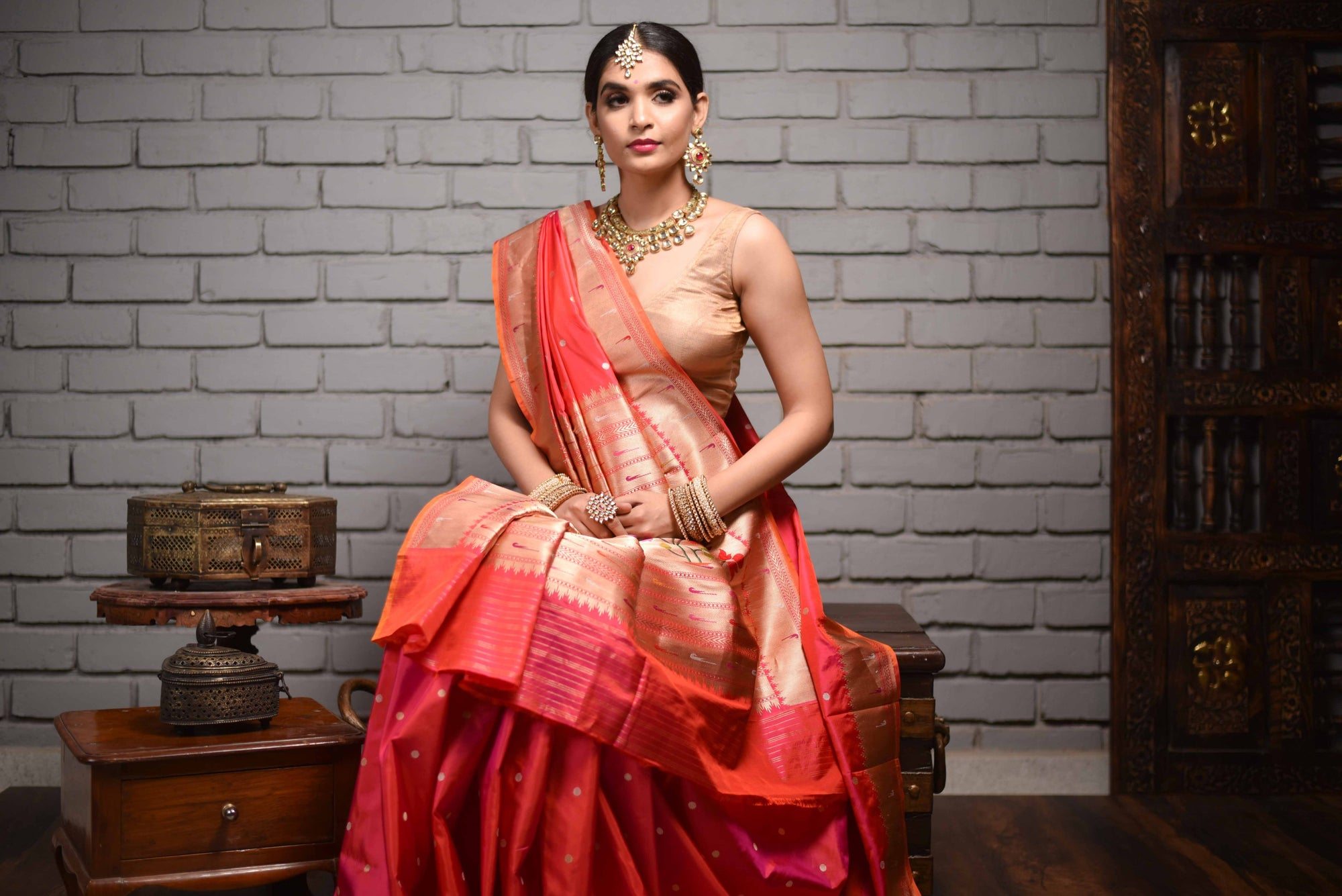 Types of Silk Sarees in India