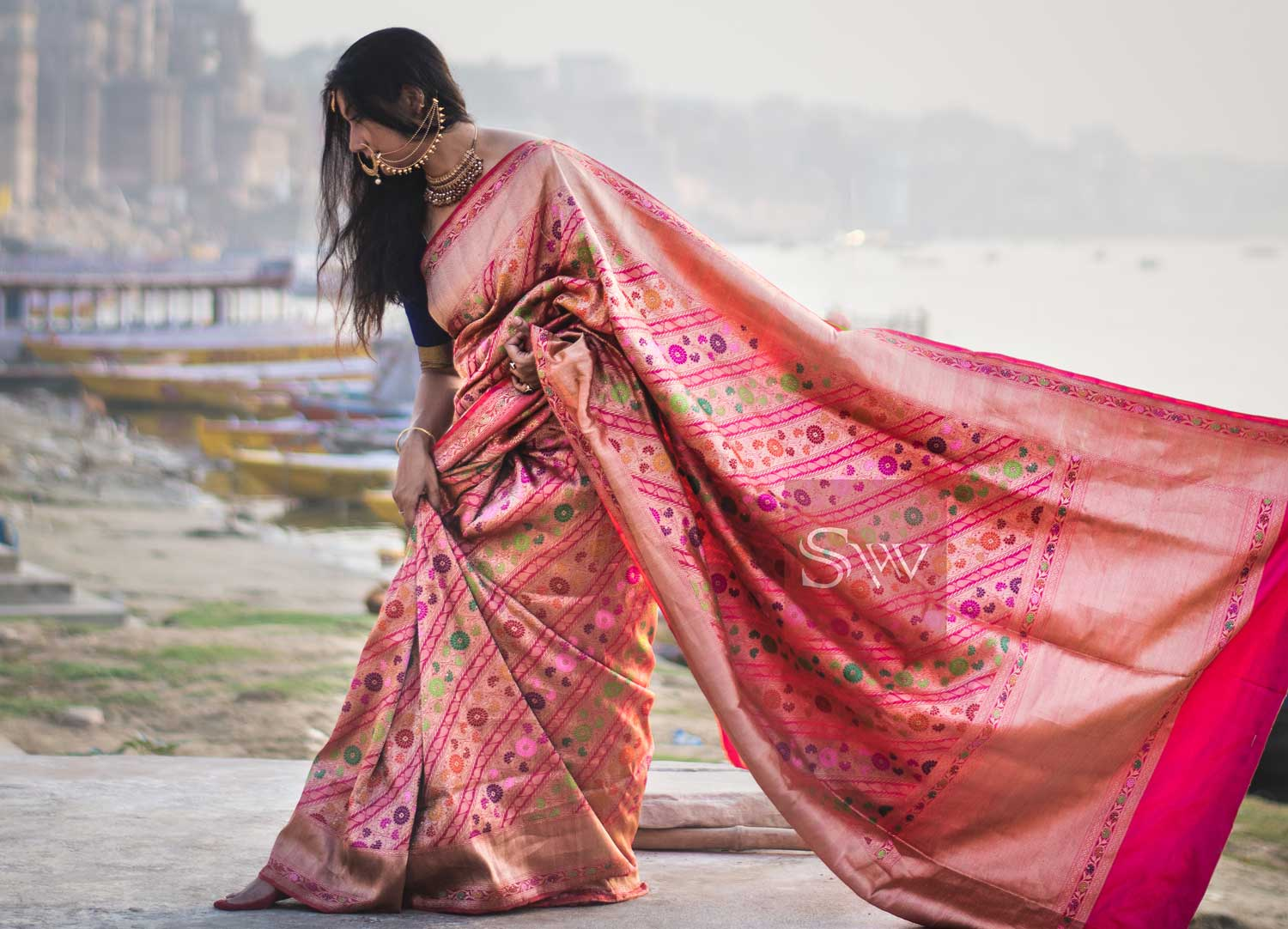 Expert checklist to identify an original Banarasi Silk Saree - Sacred Weaves