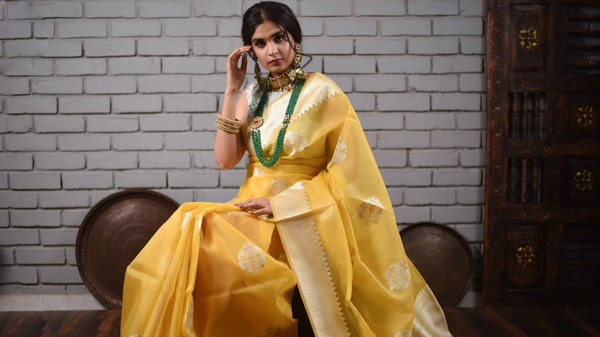 What Is Organza Silk Saree and Types of It
