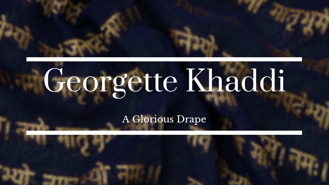 Georgette Khaddi: A Glorious Drape
