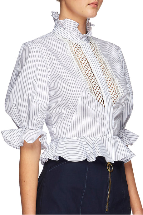 Abbey Trim Shirt