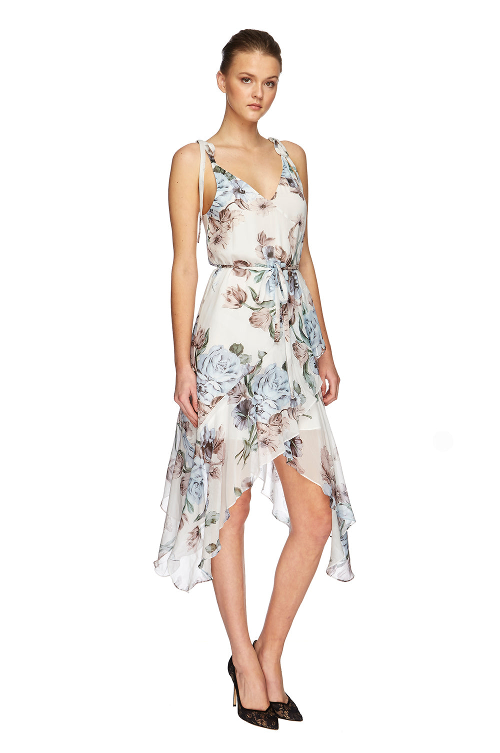 Posy Georgette Slip Dress