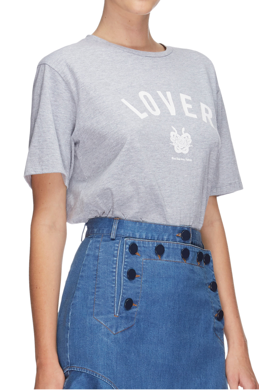 Lover College Tee Grey 7