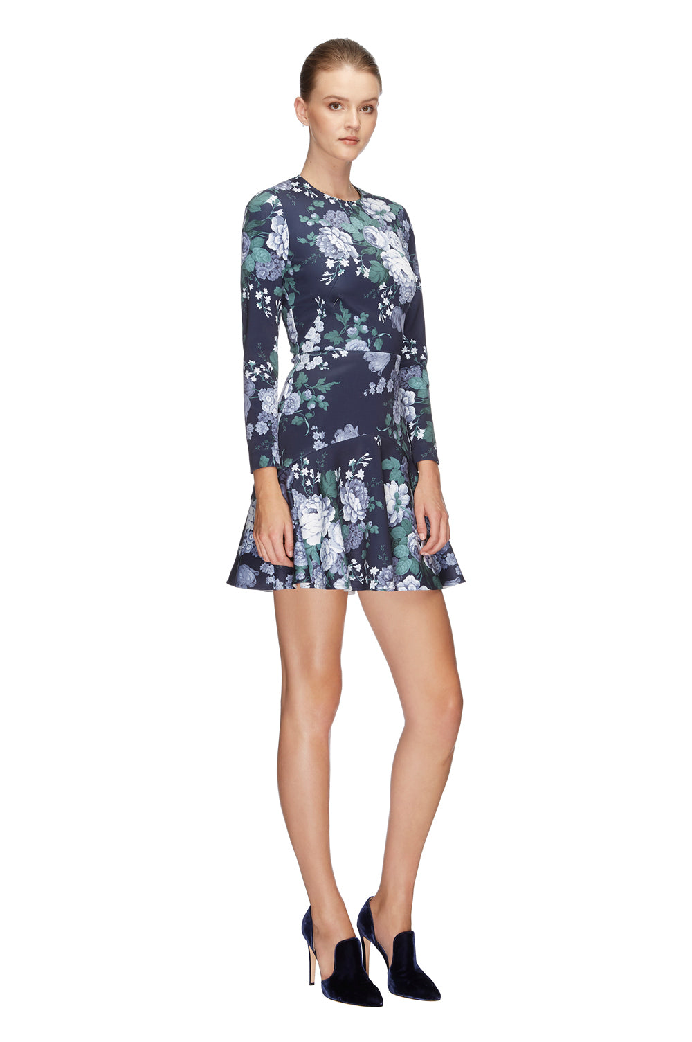 Peony Mini Flip Dress Navy 1