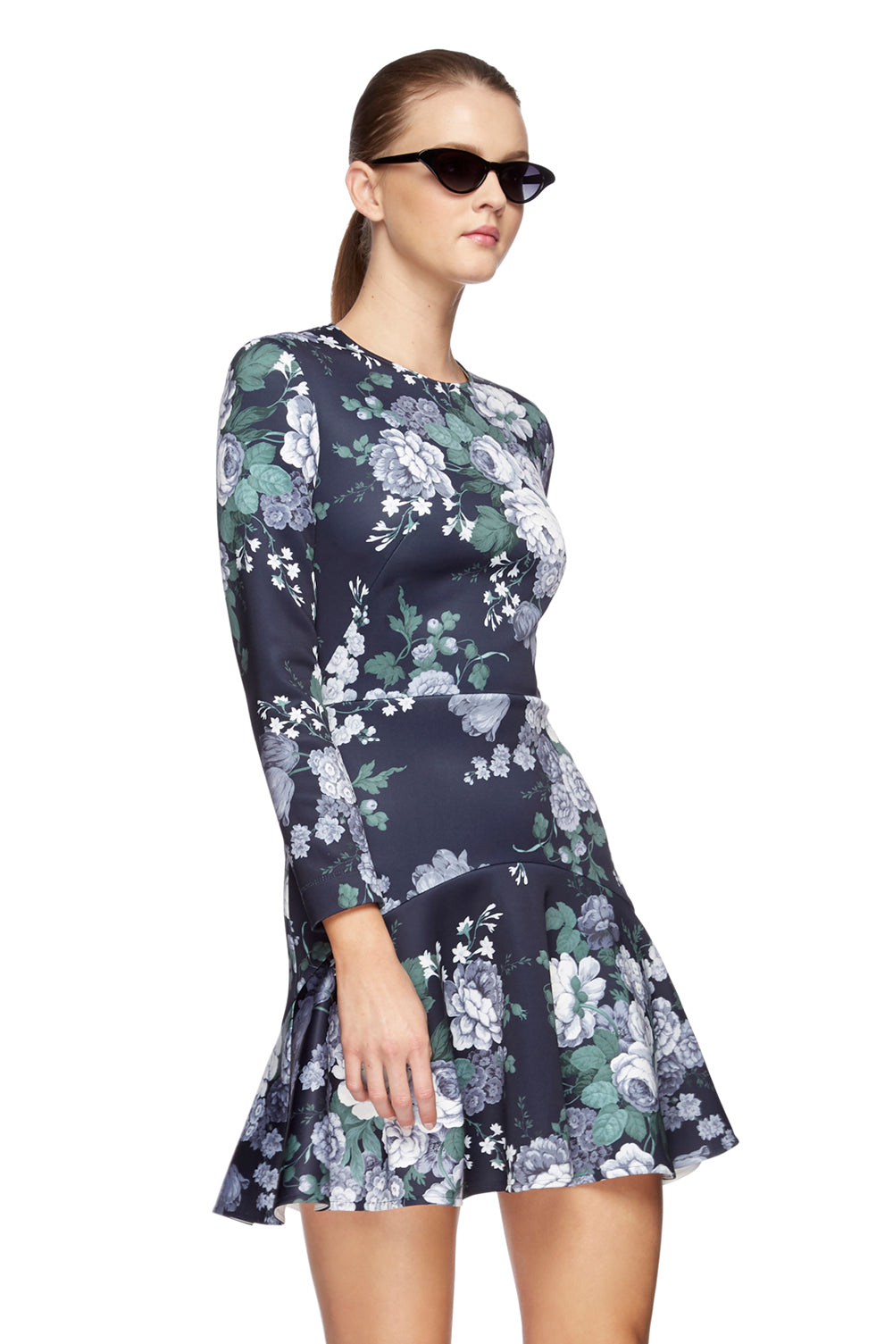 Peony Mini Flip Dress Navy 5