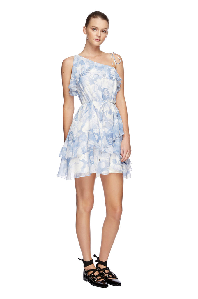 Fleur Georgette Mini Dress