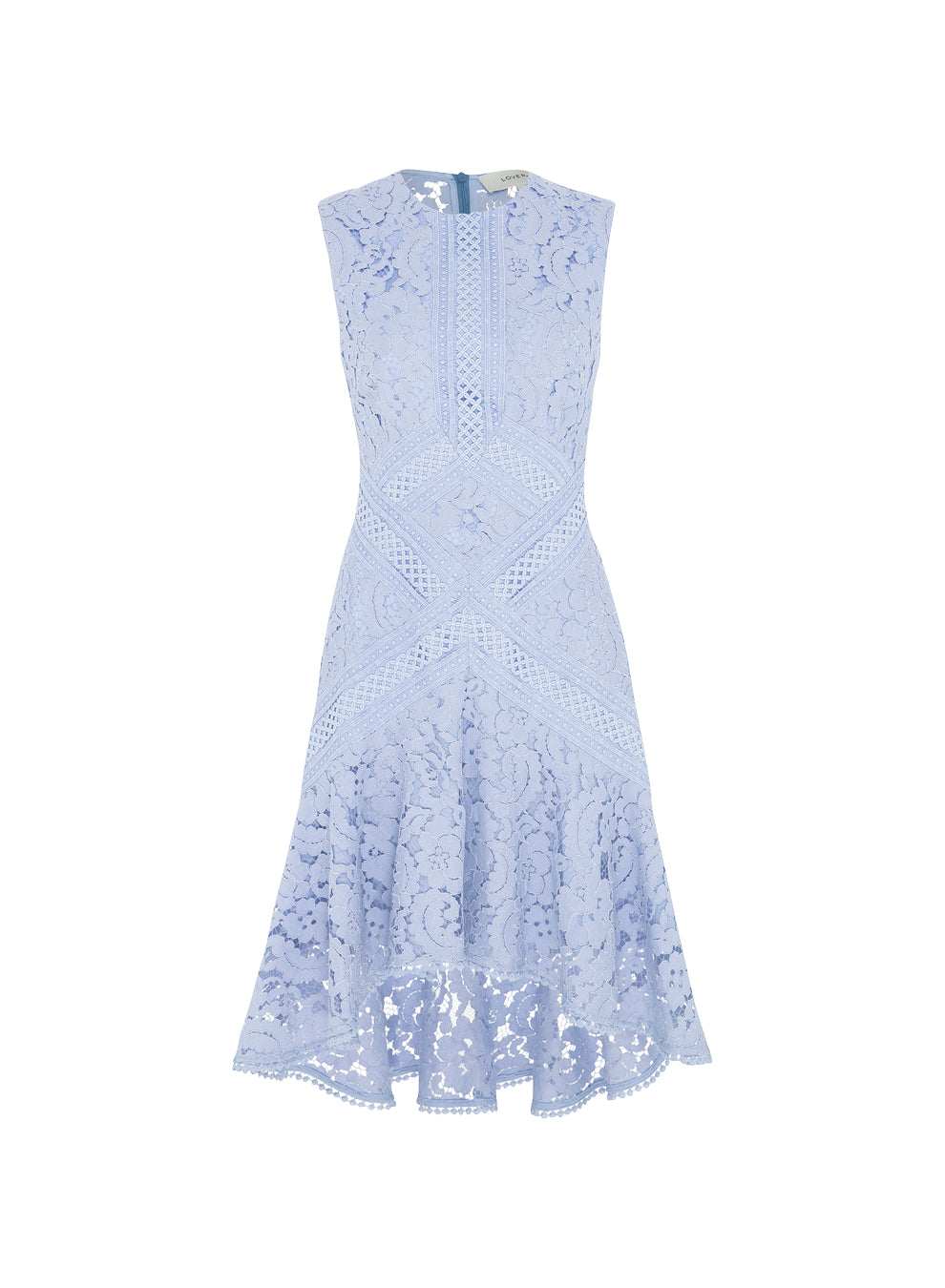 Melody Lace Flare Dress