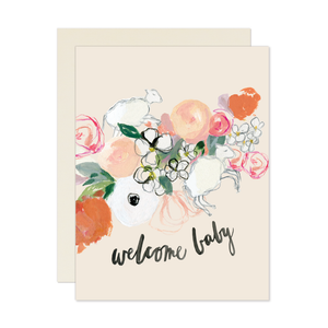 Lamb Welcome Baby Card