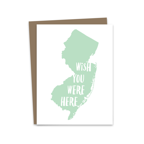 Wish You Were Here - New Jersey