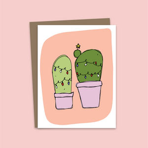 Holiday Cactus Card