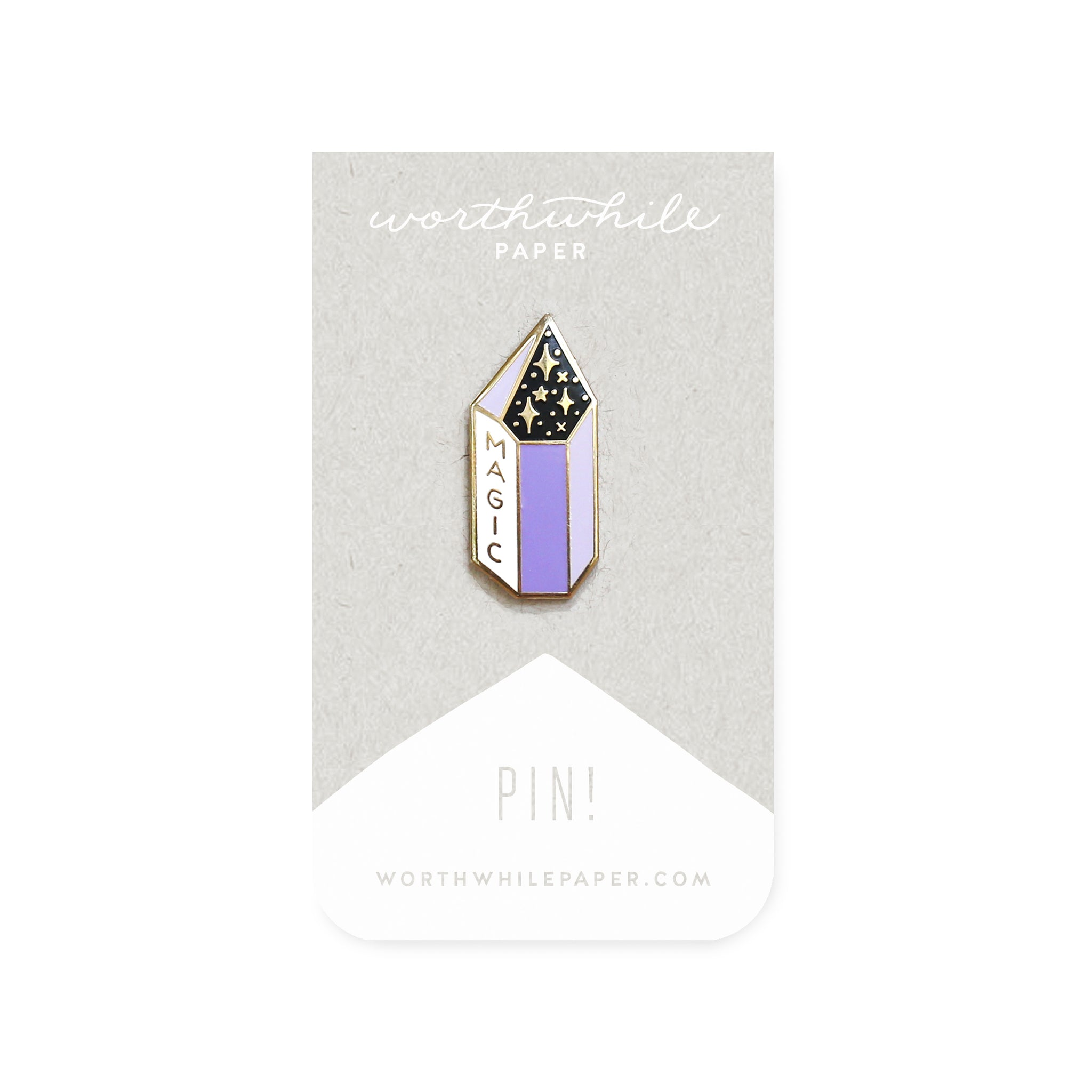 Magic Crystal Enamel Pin