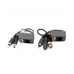 CCTV Video Audio Power Balun over Twist Pair HD BNC to RJ45 Connector (Pair)