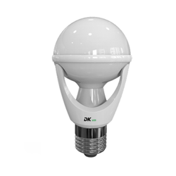 8W LED (75W) E27 Lamp Light Bulb Milky Screw Cap In ES E27 - DK-Digital
