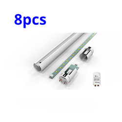 8pcs LED T8 Light Tube 4ft Fluorescent  Light Tube Replacement - DK-Digital