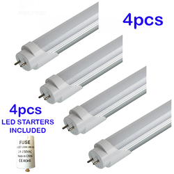4pcs LED T8 Light Tube 4ft 120cm Retrofit  Fluorescent  Light Replacement - DK-Digital