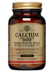 Calcium 600 mg from Oyster Shell with Vitamin D3