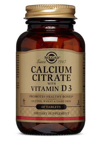 Calcium Citrate with Vit D3