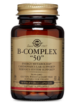 Vitamin B-Complex 50 High Potency Vegetable Capsules