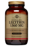 Soya Lecithin 1360 mg softgels