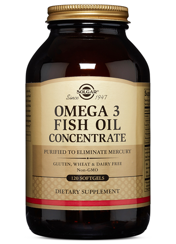 Omega-3 Fish Oil Concentrate Softgels