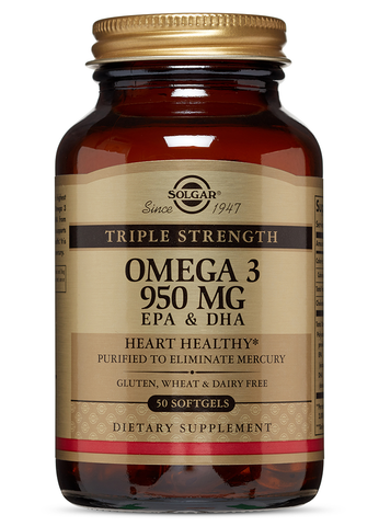 Triple Strength Omega-3 950 mg Softgels