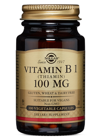 Vitamin B1 Thiamin Vegetable Capsules