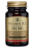 Vitamin B2 Riboflavin 100 mg Vegetable Capsules