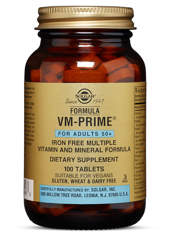 Formula VM-Prime® Tablets (For Adults 50+)